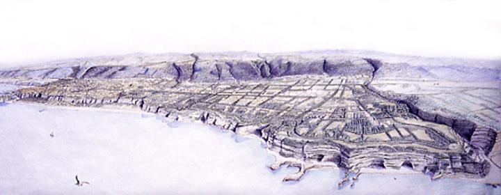 Tropea town general plan | Cristiano Toraldo di Francia