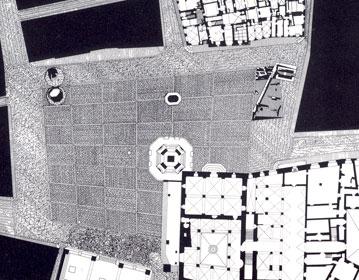 Piazza della Signoria new flooring and underground archaeological Museum | Cristiano Toraldo di Francia