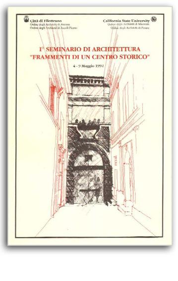 Frammenti di un Centro Storico exhibition set up, Rondini palace, Filottrano 1992 | Cristiano Toraldo di Francia