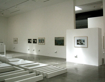 anthological Superstudio exhibition, Pasadena Art Center, Los Angeles  2004 | Cristiano Toraldo di Francia