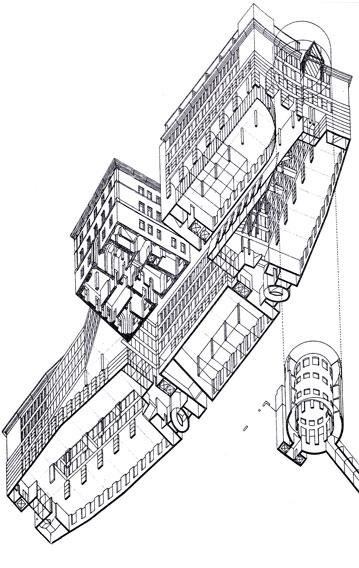 Monte dei Paschi di Siena bank and trade center | Cristiano Toraldo di Francia