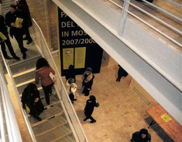 2008   Paesaggi del lavoroexhibition set up, Monte San Vito | Cristiano Toraldo di Francia