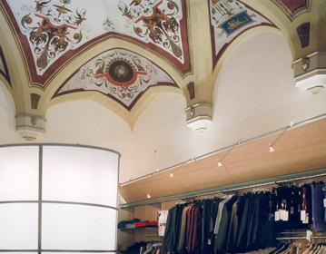 Baldassarri clothing store | Cristiano Toraldo di Francia