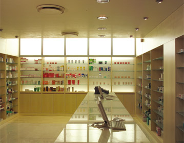Dr. Mancia pharmacy | Cristiano Toraldo di Francia