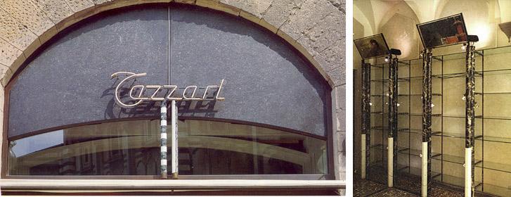 Tazzari perfumery shop | Cristiano Toraldo di Francia