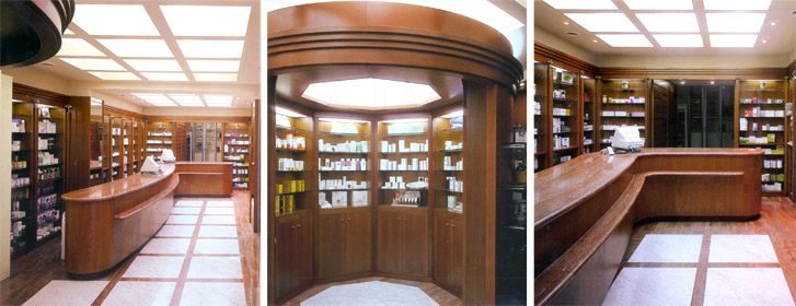Dr. Gentili pharmacy and laboratory | Cristiano Toraldo di Francia