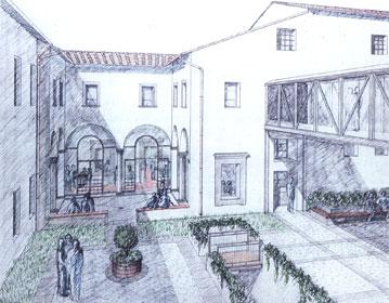 University Refectory renovation in Santa Apollonia   Cristiano Toraldo di Francia