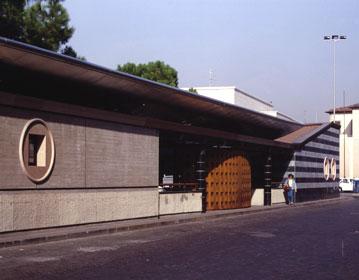 Urban bus terminal in Piazza Stazione | Cristiano Toraldo di Francia
