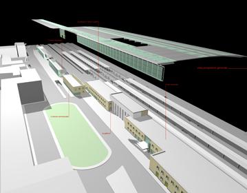RFI railway station | Cristiano Toraldo di Francia