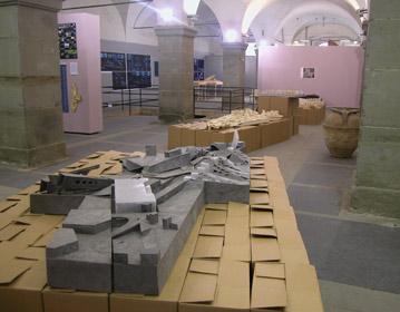 Nuove residenze, Cal State University laboratory exhibition, Livorno 2003 | Cristiano Toraldo di Francia