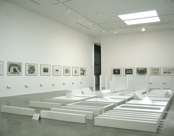 anthological Superstudio exhibition, Pasadena Art Center, Los Angeles  2004 | Cristiano Toraldo di Francia