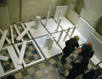 anthological Superstudio exhibition, Zeeuws Museum, Middleburg, Holland 2004 | Cristiano Toraldo di Francia