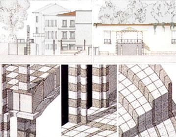 Four squares requalification in Prato historical center | Cristiano Toraldo di Francia