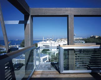 9 commercial buildings on seafront | Cristiano Toraldo di Francia