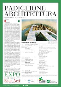 Milano capitale del moderno, Belvedere Pirelli 2015 | Cristiano Toraldo di Francia