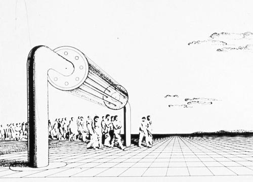 SUPERARCHITECTURE 1966 1968 | Cristiano Toraldo di Francia